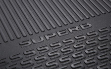 Luggage-compartment mat SUPERB III COMBI