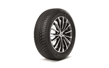 "Complete winter alloy wheel TRINITY 18"" for KODIAQ"