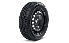 "Complete 14"" steel wheel with winter tyre for CITIGO"