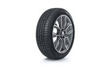 "Complete winter 19"" alloy wheel Crater KAROQ"