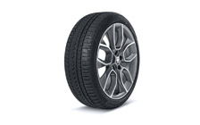 "Complete 19"" winter wheel Crater KAROQ"
