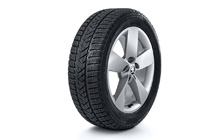 "Complete winter 17"" alloy wheel Ratikon KAROQ"