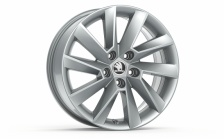 "Alloy wheel STRATOS 17"" for SUPERB III"