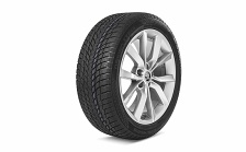 "Complete winter alloy wheel MODUS 18"" for SUPERB III"