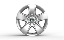 "Alloy wheel CRATERIS 16"" for OCTAVIA II"