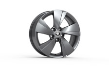 "Alloy wheel ZEUS 17"" for SUPERB III"