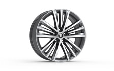 "Alloy wheel SIRIUS 19"" for SUPERB III"