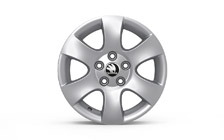 "Alloy wheel SHELL 14"" for ROOMSTER a FABIA II"