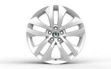 "Alloy wheel GIGARO 17"" for FABIA II and ROOMSTER"