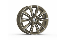 "Alloy wheel SAVIO 17"" for FABIA III, RAPID"