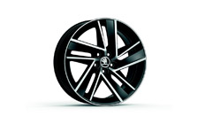 "Alloy wheel BLADE 17"" for FABIA III, RAPID"