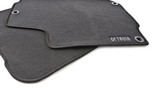 Set of textile car mats OCTAVIA I