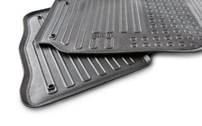 Rubber floor mats for FABIA I cars