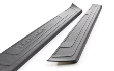 Plastic sill covers